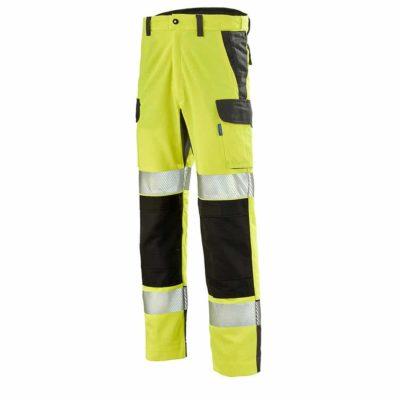 pantalon de travail haute visibilite