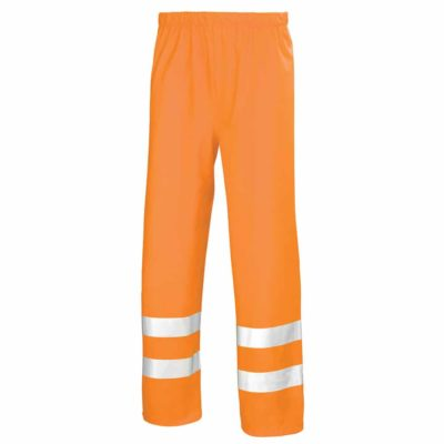 surpantalon de pluie orange