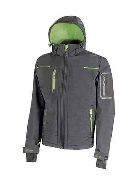 upower softshell veste space